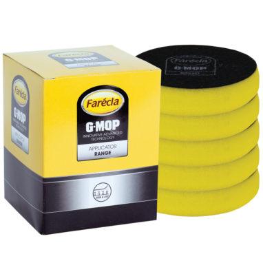 Farécla G-Mop foam polijstpad 75mm geel 5 stuks