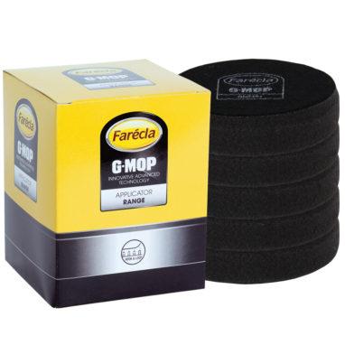 Farécla G-Mop zachte poetsschijf 75mm zwart 5 stuks