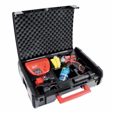 Milwaukee M12 poetsmachine polijstmachine set