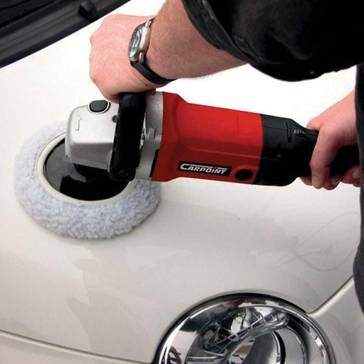 Carpoint-polijstmachine-gebruik