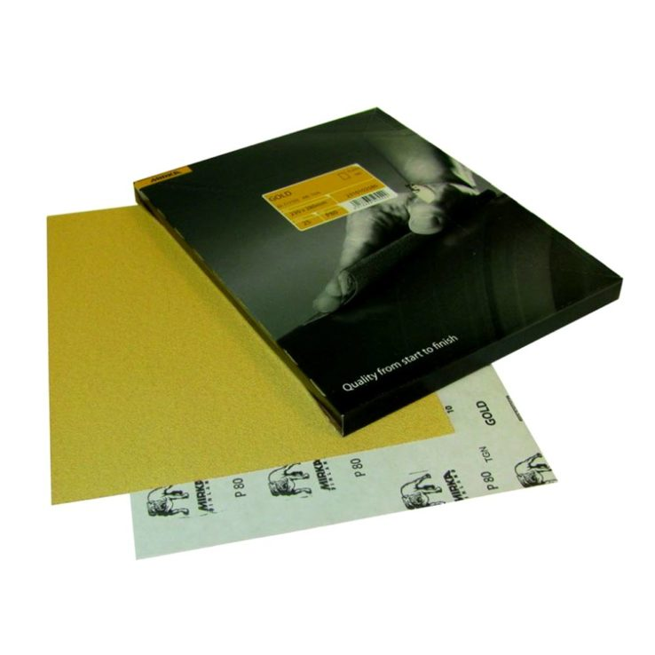 Mirka Gold handschuurvellen-10-stuks