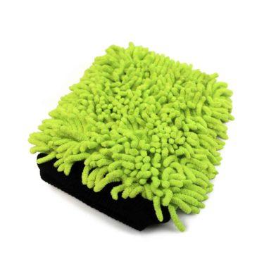 Martin Cox Microvezel Washandschoen met Dreadlocks (groen)
