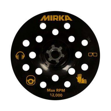Mirka steunschijf 125mm 17 gaten glas polijsten