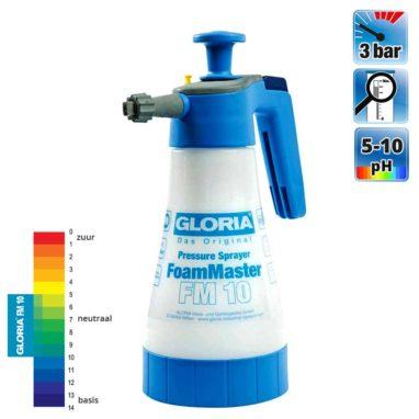 Gloria Foammaster FM10 druksproeier 1 liter